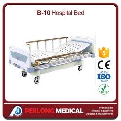 Bens móveis Medical Full-Fowler cama hospitalar com placa de ABS