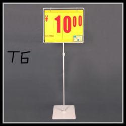 Exibir Inserir Preço Suporte de placa pendurada/spray de plástico na superfície do suporte de preços