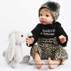 Cuerpo de algodón de 22 pulgadas de Bebe juguete para niños de muñecas de renacer.