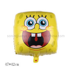 Dto0078 Kids inflables animación de dibujos animados favoritos de la figura cuadrada globo