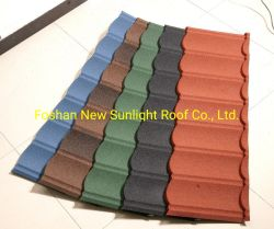 Bâtiment d'importation en provenance de Chine Materia Zinc Aluminium Hot vendre Stone-Coated tuile de toit de métal Making Machine sur 2019 Hot vendre