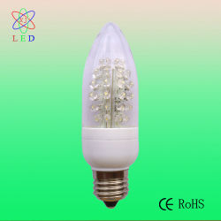 LED ultra-brillante C40 E26 Bougie des ampoules des feux de la forme de base
