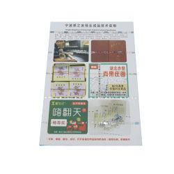 90 g/m² 75%25% coton Linge de Maison du Papier de Sécurité de papier du papier de sécurité étanches