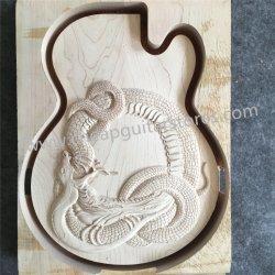 Sculpté à la main Lp Dragon Corps de guitare