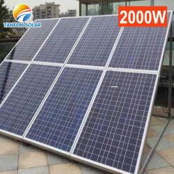 프랑스를 위한 off-Grid/on-Grid/Solar 펌프 시스템을%s 250W 72cells 많은 태양 전지판