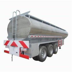 3 ejes ejes Fuwa 30000 litros 40000 litros móvil pequeño tráiler del depósito de combustible el tanque de combustible de la capacidad de remolque de tractor
