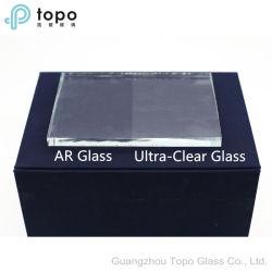 Beide het Kanten Met een laag bedekte anti-Weerspiegelende Glas van het Reuzenrad Temperable (AR-TP)