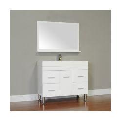 39 дюймовый глянцевый белый - все в одном сегменте панельного домостроения в ванной комнатой с душем туалет наружного зеркала заднего вида светодиодный индикатор из Китая производителя