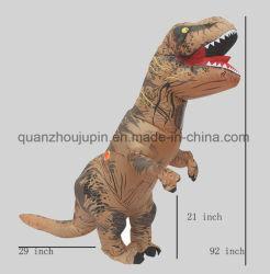 맞춤 핫 세일 페스티벌 팽창식 공룡 정장 의상