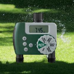 庭の潅漑のための電子2つのアウトレット水タイマー