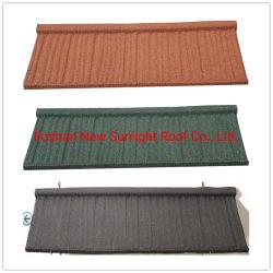 Type de couleur des feuilles de carton ondulé Stone tuile métallique enduite