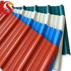熱絶縁体波形UPVCのプラスチック屋根シート