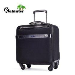 """16""""Carrinho programável de boa qualidade sala de bagagem de Viagem de maleta portátil"""