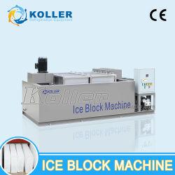 Máquina de hielo Koller producir bloques de hielo para Ice-Cave clara