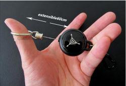 Piscina de metal OEM Capota Keyring Chaveiro Cadeia Key Ring