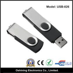 Rotatif colorés Portable Mini Lecteur Flash USB (USB-026)