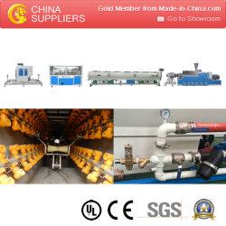 PVC à double vis tuyau double ligne de production de la machine