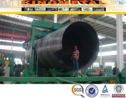 API 5L Gr. B, X42, X52, X60, SSAW soldado do tubo de aço