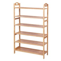 Multifunctionele Bamboo Rack Bamboo Home Storage Shelf Plant Reconfigurable