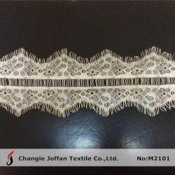 100% нейлон Eyelash кружева на платье материала (M2101)