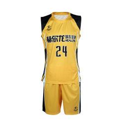 Faça a sua própria personalizada sublimação do basquetebol Juvenil Jersey Design desportivo