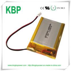 Batería de litio polímero de litio recargable de 3,7V para teléfono inalámbrico