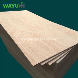 Manufaktur-hartes hölzernes Bauholz-Kern-Pappel-Werbungs-Furnierholz China-Linyi