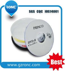 Gute Qualitätskundenspezifisches Firmenzeichen-Leerzeichen DVD-R 8X