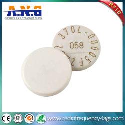 La alta temperatura resistente HF RFID etiquetas de disco duro para el sector Industrial Productos textiles.
