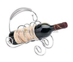 Het Rek van de Tribune van de Wijn van de Draad van het ijzer met het Plateren Nr. Wr003