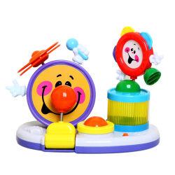 Новизна Детский пластиковый музыкальный инструмент игрушка B/O игрушка барабана H4646025)