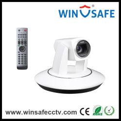 Caméra vidéo HD blanc Conférence vidéo caméra PTZ