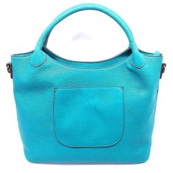 Sacchetti di spalla di cuoio blu del PVC i i migliori Mcm dell'unità di elaborazione comerciano le borse all'ingrosso del Hobo del progettista dalla fabbrica dei sacchetti delle repliche