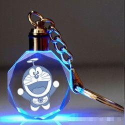 Laser de LED en verre Verre en cristal de cadeau trousseau pour Cadeaux Souvenirs