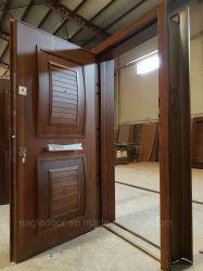الدروع التركية الباب الخشبي الصلب والمدرعات مزدوجة باب المدخل (ESD-110)