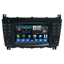 Benz C-ClassのためのDVD MultimediaのCar GPS Unit