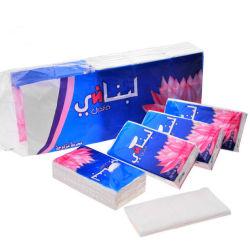 Лучшее качество Pocket Pack для лица тканей Virgin древесной целлюлозы мягкий белый гладкий 3 Ply Handkerchief бумаги тканей