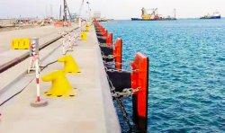 قارب D للهندسة البحرية للمصد المطاطي ذو الزوابين والمطاط ذو الزوابين حماية منصة مصدات المصد