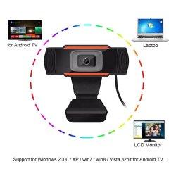 Cámara HD interno USB portátil con micrófono para PC