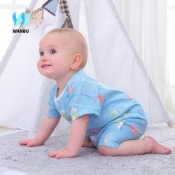 고품질 사랑스러운 신생 아기는 여름 짧은 소매 남자 아기 소녀 장난꾸러기 중국 제조자 도매 신생 장난꾸러기를 입는다