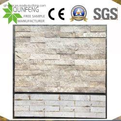 China-natürlicher dekorativer Wand-Travertin-aufgeteilter Gesichts-Kultur-Stein