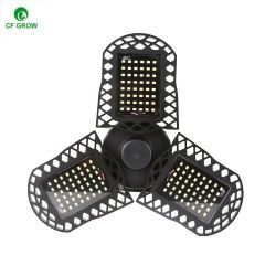 Складные лопасть вентилятора светодиодная лампа 30/45/60Вт E27 Суперяркий настраиваемый угол потолок лампы освещения для дома энергосберегающее освещение