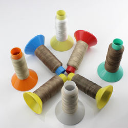 Высокая температура бета-версия с покрытием из тефлона (BC) из стекловолокна швейной промышленности поток
