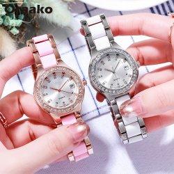 Más rápido el envío de nuevo diseño de Corea de colores de moda de cuero Las mujeres de las principales marcas de relojes pulsera de cuarzo fina de lujo relojes de regalo