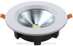 Встраиваемый светильник акцентного освещения Die-Casting алюминиевый корпус фонаря направленного света 12Вт светодиод початков круг затенения
