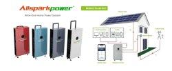 Allsparkpower MPPT 태양 책임 관제사 UPS 기능 집을%s 태양 저장 시스템을%s 가진 잡종 태양 변환장치 UPS