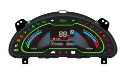 Salpicadero del vehículo eléctrico de alimentación de la fábrica/Combinación/medidor de batería de litio instrumento medidor combinado/nº de modelo E628