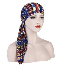 Просто износ головки Pre-Tied Wrap шаль с Bandanas смешивать цвета для женщин Дамы