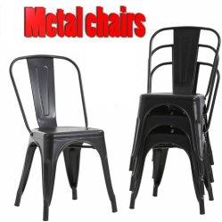 Металлические стул кафе отеля мебель оптовая торговля обеденный ресторан Tolix бистро ресторан домашней мебели наращиваемые банкетный стул