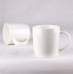 Custom Logoの熱いSale Product Ceramic New骨灰磁器Coffee Mug